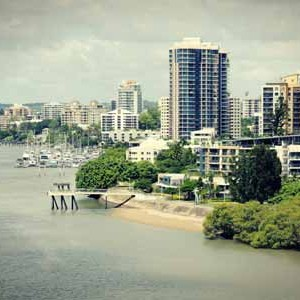 travelling in Brisbane with the family