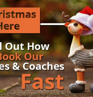 Christmas Is Here - Find Out How To Book Our Buses & Coaches Fast