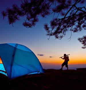 Moreton island camping tour in australia