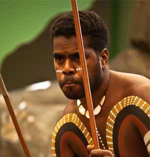 Aboriginal Australians during dance