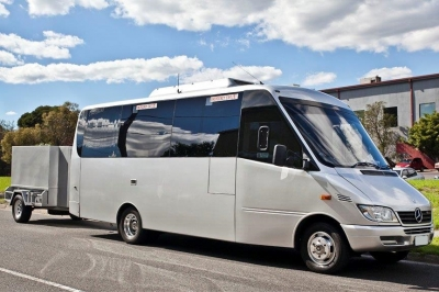 21 Passenger Seat Luxury Mini Bus