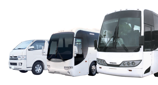 coach charter services in central coast